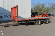 Jumbo dropside flatbed trailer