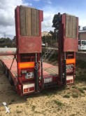 Nooteboom heavy equipment transport trailer