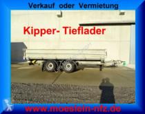Möslein TTD 19 Schwebheim 19 t Tandemkipper- Tieflader-- trailer