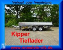 rimorchio Möslein TTD11 Silber Tandem Kipper Tieflader-- Neufahrze