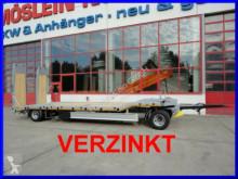 rimorchio Möslein T 2 2 Achs Tieflader- Anhänger, FeuerverzinktNeu