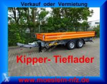 przyczepa Möslein TTD11 Orange Tandem Kipper Tieflader-- Neufahrze
