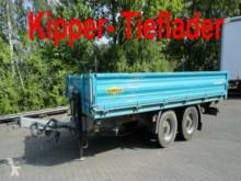 porte engins Humbaur HTK 10 50 24 Tandem 3- Seiten- Kipper- Tieflader
