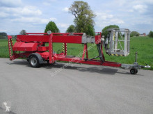 used telescopic articulated aerial platform trailer
