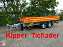 Möslein TTD 13 Orange 13 t Tandem 3- Seitenkipper Tiefla trailer