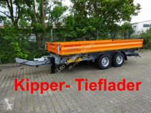 rimorchio Möslein TTD 13 Orange 13 t Tandem 3- Seitenkipper Tiefla
