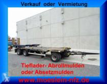 Möslein MTH 3 3 Achs Kombi- Tieflader- Abroll- und Abset Anhänger