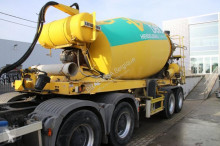 used concrete mixer trailer