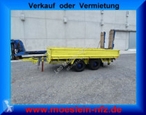 Blomenröhr AW 6000 Tandemtieflader mit Alu- Rampen heavy equipment transport