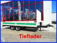 Blomenröhr Tandem- Pritsche- Tieflader heavy equipment transport