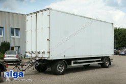 used double deck box trailer