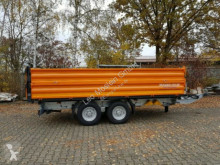 Möslein TTD13- BA Orange 13 t Tandem Kipper Tiefladermit trailer