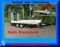 remolque Möslein TTT 11- 6,28 Weiß Neuer Tandemtieflader
