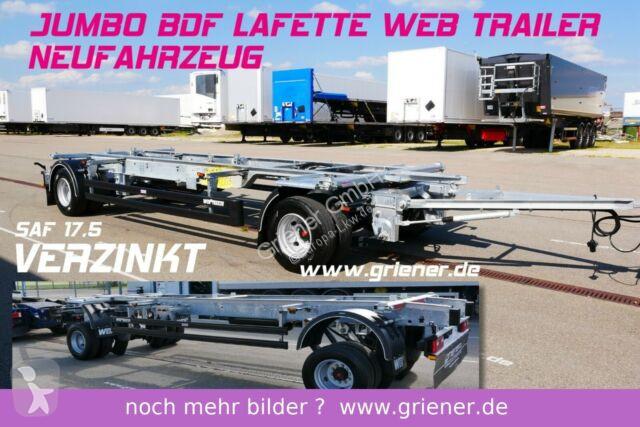 Voir les photos Remorque nc JUMBO / MAXI BDF 7,15/7,45 LAFETTE 960 mm höhe