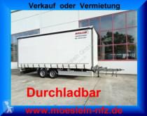 Möslein TP 11-D Schwebheim Tandem-Planenanhänger Durchla trailer