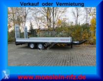 Möslein TTT 11- 6,2 Silber Neuer Tandemtieflader trailer