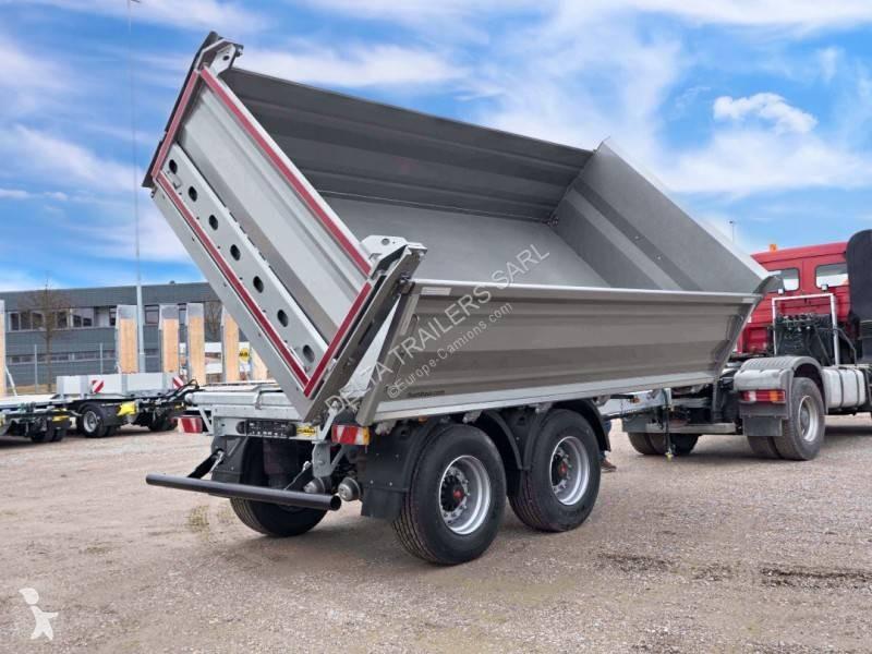 View images Humbaur HTK 19T BI-BENNE - 26T charge utile - Dispo sur parc trailer