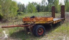Cometto heavy equipment transport trailer