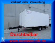 remolque Möslein EK1-D 1 Achs Kofferanhänger, Durchladbar