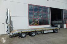Möslein T 3-P 8,20 VB 2 T 3 Achs Tieflader- Anhänger mit trailer
