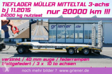 přívěs Müller-Mitteltal T3 / 30000 kg/ FEDERRAMPEN 8400 mm / VERZINKT /