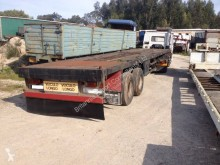 rimorchio Evicar with twist locks on springs suspension BPW axles
