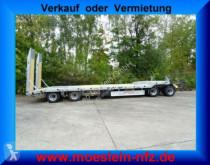 remorque Möslein T 4L VB F 4 Achs Tieflader- Anhänger mit ABS-- N