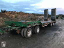 Goldhofer heavy equipment transport trailer