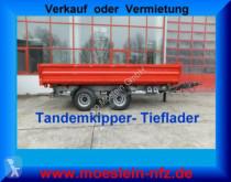 remolque Möslein TTD 19 Schwebheim 19 t Tandemkipper- Tieflader