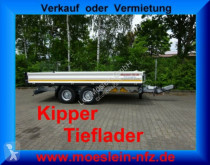 remorque Möslein TTD 11 Weiß Tandem 3- Seitenkipper Tieflader-- N
