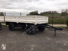 Titan dropside flatbed trailer