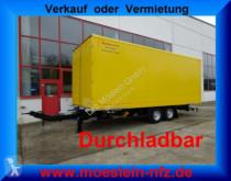 Möslein TKO 105 D 7m gelb Tandem- Koffer- Anhänger, Durc trailer