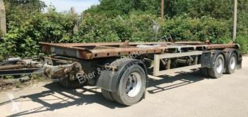 Meiller A24ZL, für Absetzcontainer, Luftf. trailer