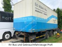 remolque Schmitz Cargobull Tandem Anhänger mit Brücke Isoliert Koffer