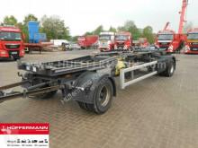 Hüffermann 2-achs Schlittenanhänger / HSA 20.70 LS + PFT trailer