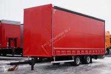 Tandem PLANDEX - / FIRANKA / 7,7 M / ŁAD. 7550 KG trailer