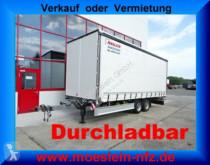 remolque Möslein TP 11-D Schwebheim Tandem- Schiebeplanenanhänger