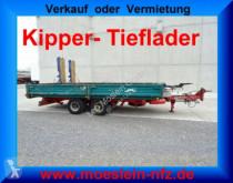 rimorchio Langendorf TAK 9,5/6 Tandemkipper- Tieflader