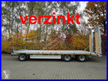 Möslein T 3-8,20 P VB H1 3 Achs Tieflader- Anhänger mit trailer