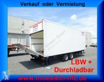 remorque Möslein TKO 105 DL Schwebheim Tandem Koffer mit Ladebord