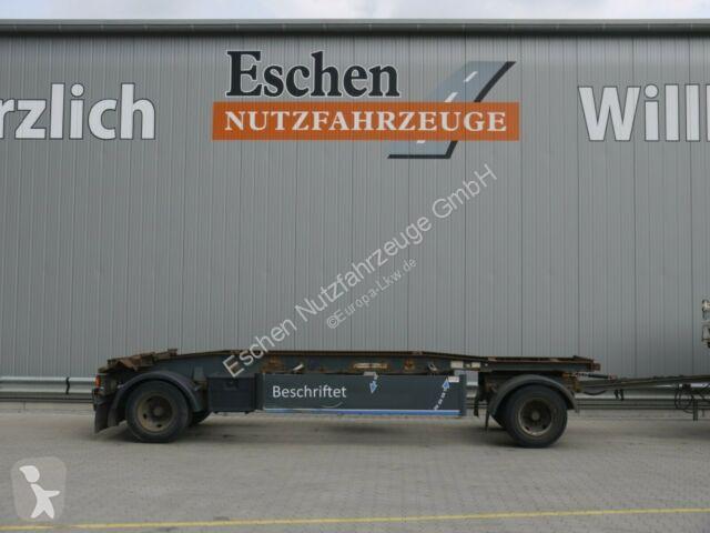 Voir les photos Remorque Hüffermann HSA 18.70, Schlitten, Luft, BPW
