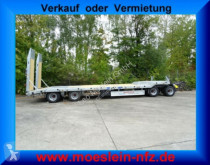 przyczepa Möslein T 4L VB F 4 Achs Tieflader- Anhänger mit ABS-- N