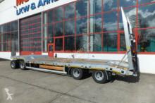 remorque Möslein T 4 VB F 4 Achs Tieflader- Anhänger mit ABS-- Ne