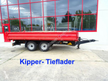 přívěs Müller-Mitteltal KA-TA-R 10,5 Tandemkipper- Tieflader