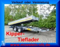 Möslein TTD 13 Verzinkt 13 t Tandem 3- Seitenkipper Tief trailer
