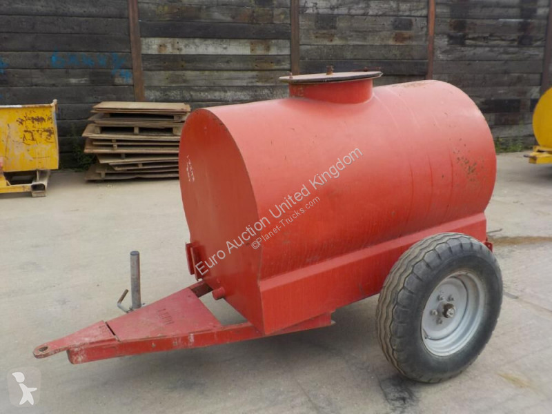 View images Nc Single Axle Water Bowser trailer