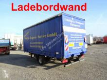 reboque nc GU 5000 1 Achs Planenanhänger mit Ladebordwand