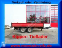 remolque nc EDT 100 Tandemkipper- Tieflader