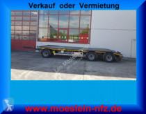 remolque Möslein MTH 3 3 Achs Tiefladeranhänger + Muldenanhänger