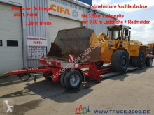 aanhanger Fliegl ZTS200 Tieflader Land + Baumaschinen 30cm Höhe